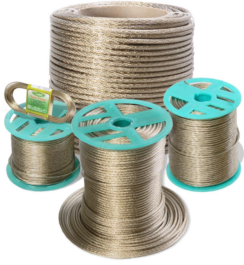 Трос метало-полимерный ПР-8,0