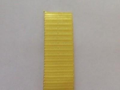 Лента текстильная для буксировочных ремней, ширина 25 мм, 0,9 т, желтая