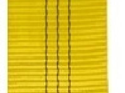 Стрічка текстильна S/F 7.1, ширина 90 мм, жовта