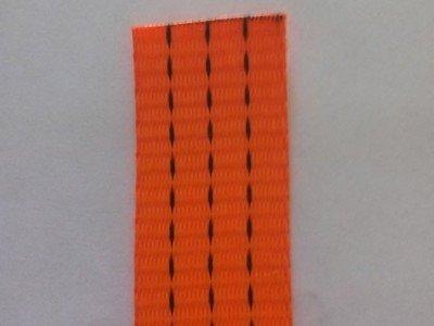 Лента текстильная для буксировочных ремней, ширина 35 мм, 2,0 т, оранжевая